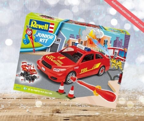 Fire Chief Car Adventskalender 2016
