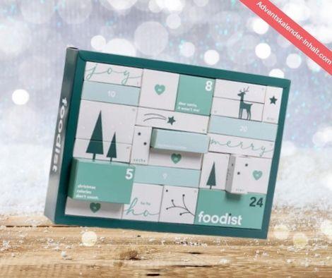 Foodist Veganer Weihnachtskalender 2021