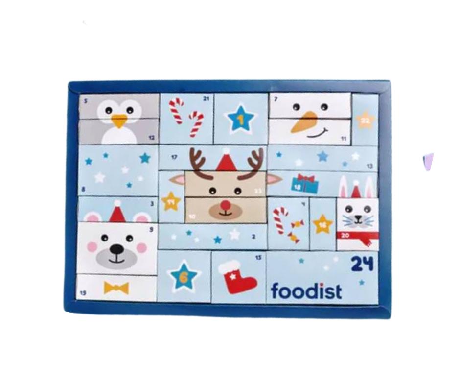 Foodist kinder adventskalender 2021
