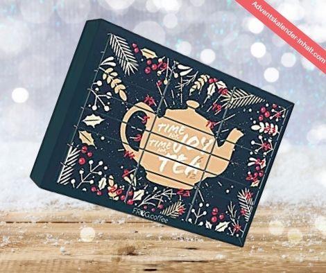 Geschenkkalender von Teekanne für 2021/21