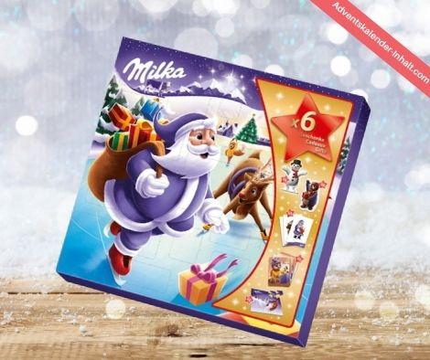 Milka Weihnachtsfreunde Adventskalender