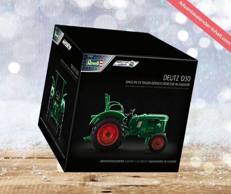 Oldtimer-Traktor Deutz D30 Adventskalender 2020