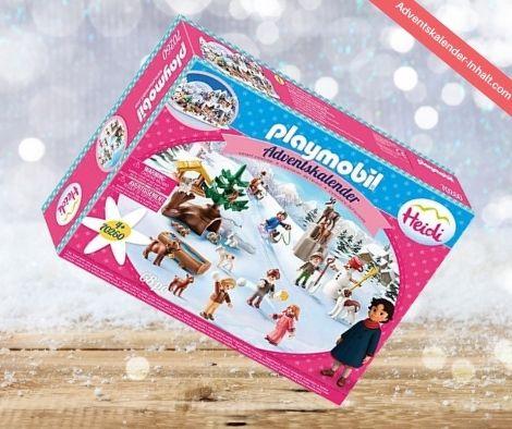PLAYMOBIL Adventskalender Heidis Winterwelt
