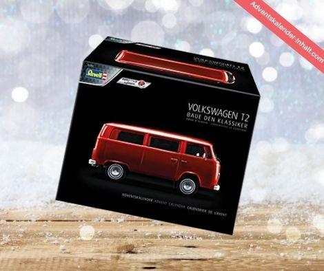 Revell 1034 Adventskalender Volkswagen VW T2 Bus