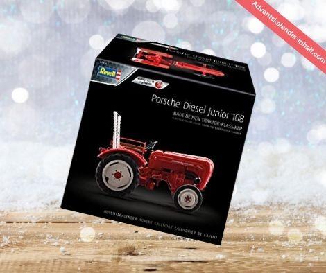 vell 1036 Adventskalender Porsche Junior 108 Oldtimer Traktor