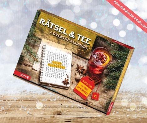 Roth Rätsel & Tee Adventskalender 2021