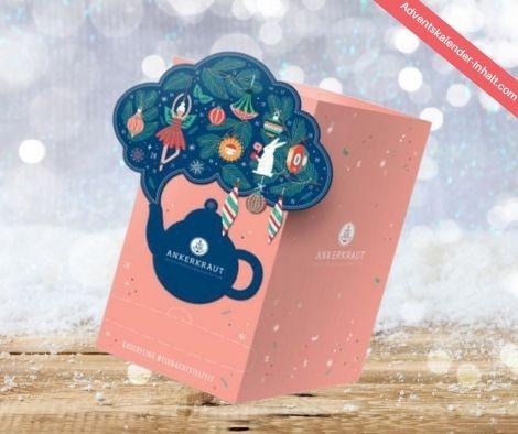 Tee Adventskalender von Ankerkraut 2021