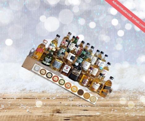 Whisky / Schokolade Adventskalender