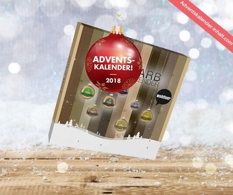 Wohltuer LowCarb Weihnachtskalender mit Superfoods